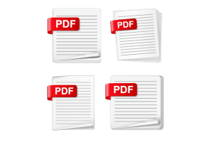 Image showing four PDF graphics