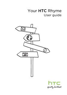 HTC Rhyme Printed Manual