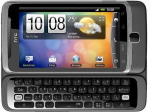 HTC Desire Z (Foto: HTC)