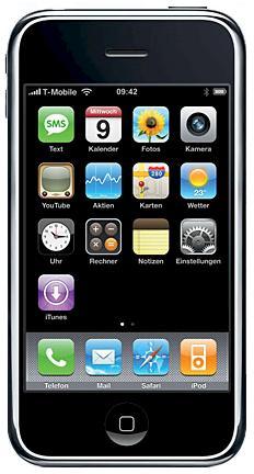 Original iPhone von 2007 (Foto: Apple)