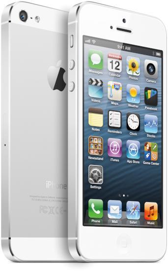 Apple iPhone 5 (Foto: Apple)
