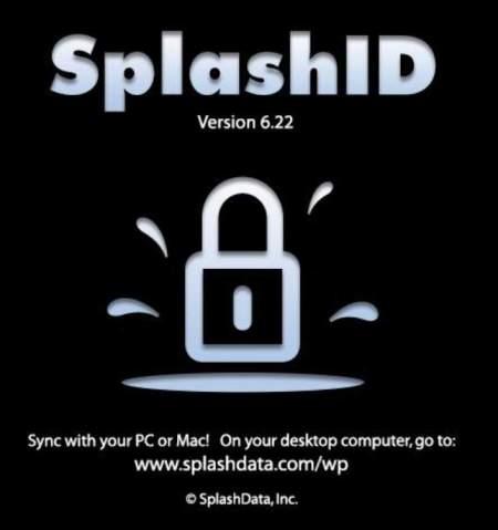 SplashID am Windows Phone
