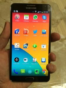 Samsung Galaxy Note 3 seit einer Woche in Betrieb