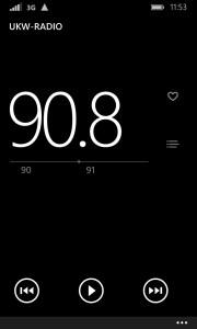 Das UKW-Radio des Nokia Lumia 1020