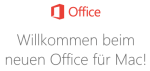 Office 2016 am iMac und MacBook installiert (Foto: Microsoft, Screenshot: SmartPhoneFan.de)