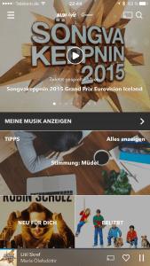 Startseite von Aldi Life Musik