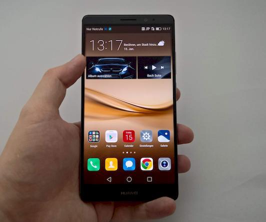 Huawei Mate 8 wird Geschäftshandy