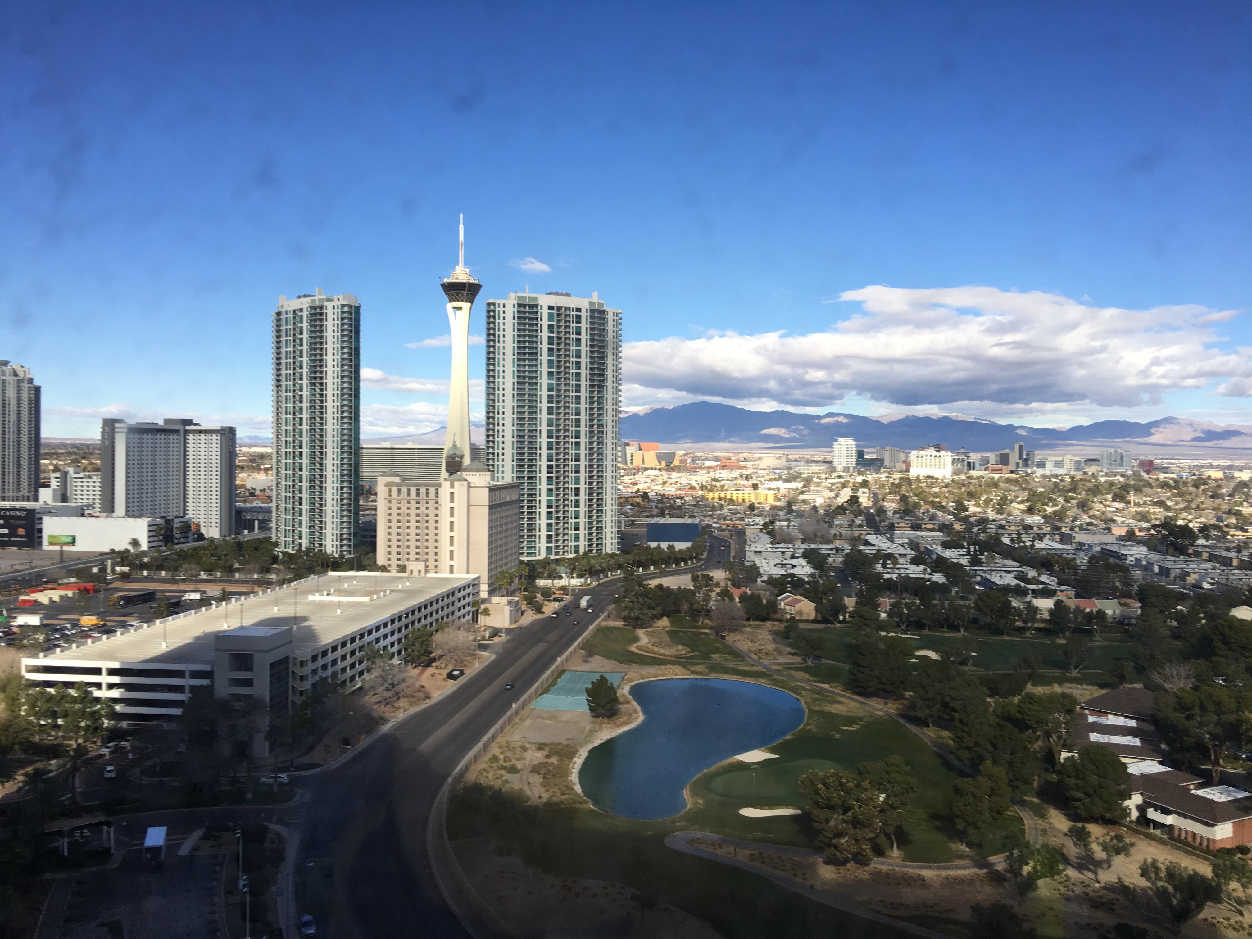 Las Vegas von oben