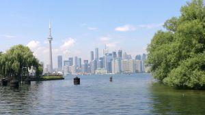Blick auf die Skyline von Toronto