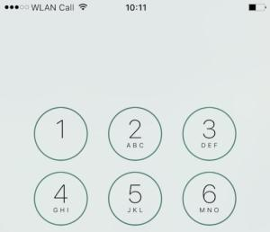 WiFi Calling in Frankreich ausprobiert