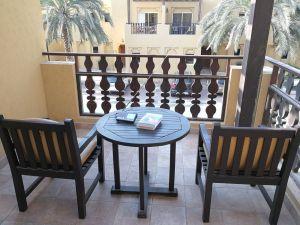 DXing auf dem Hotel-Balkon