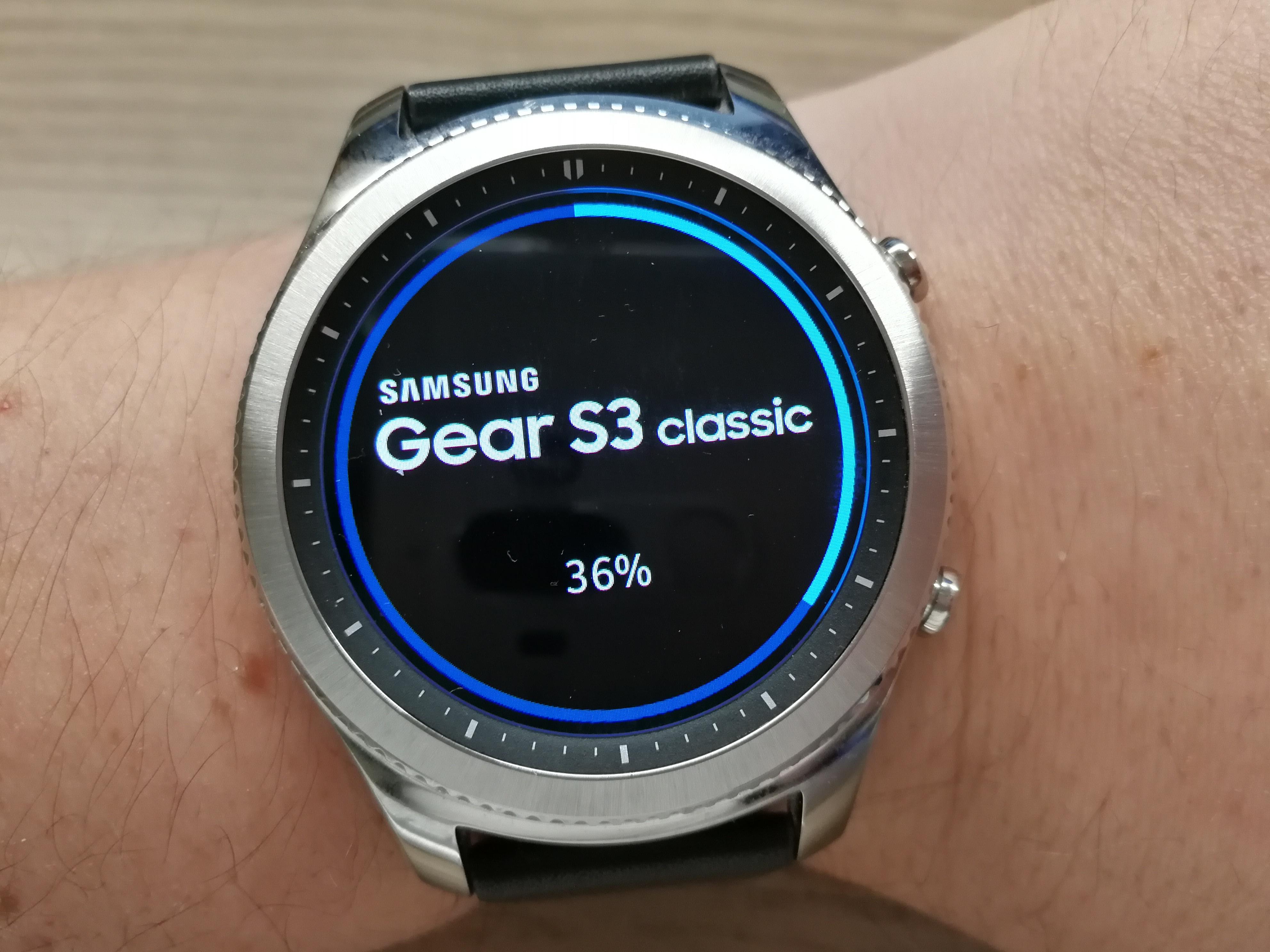 Firmware-Update für die Samsung Gear S3 classic