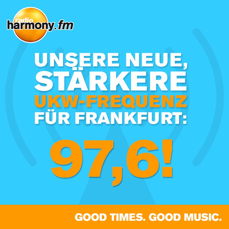 harmony.fm startet auf Ex-DLF-Frequenz (Foto: harmony.fm)
