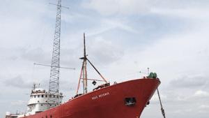 Das Caroline-Radioschiff Ross Revenge (Foto: Radio Caroline)