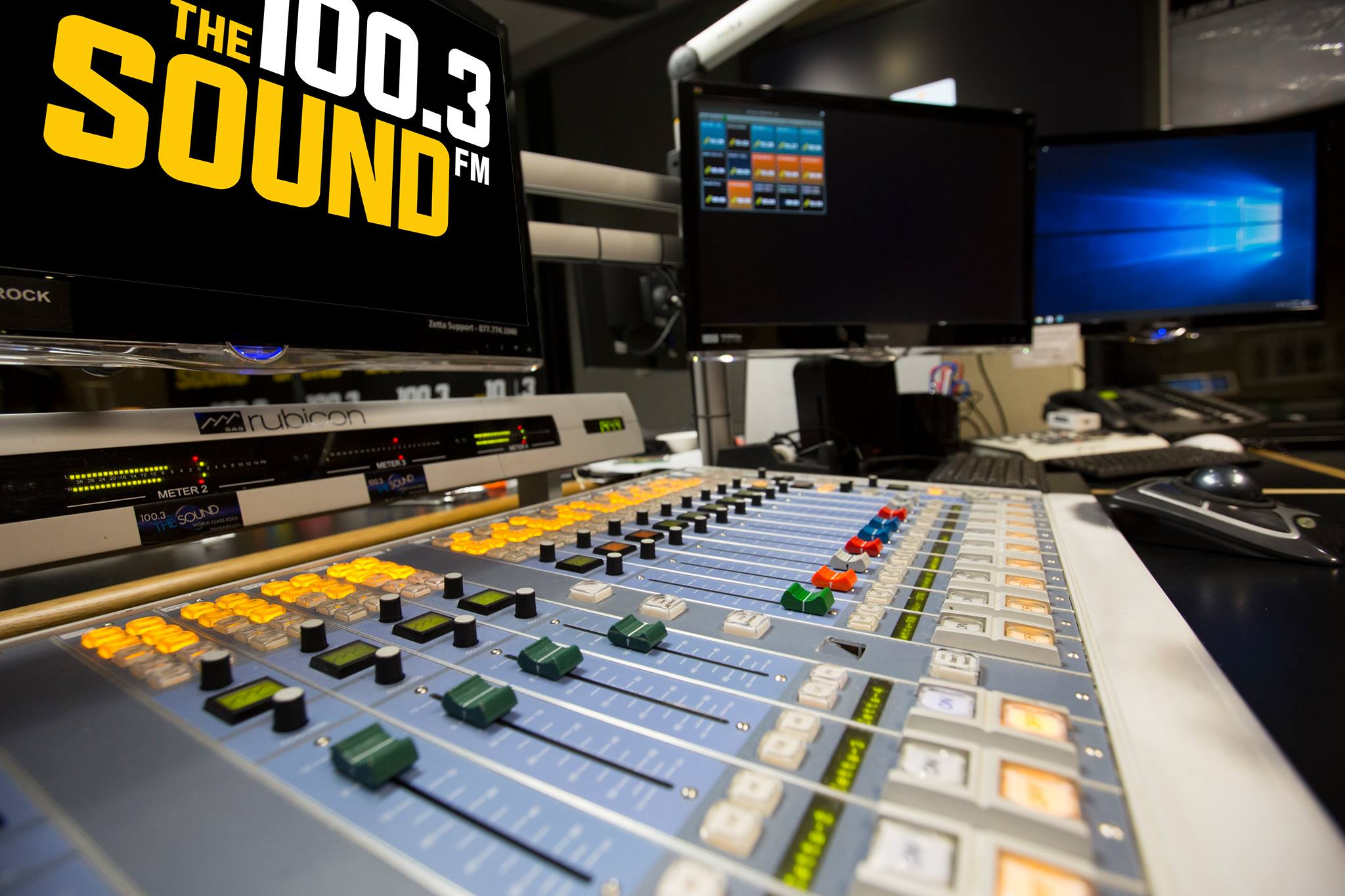 100.3 The Sound gibt es nicht mehr (Foto: 100.3 The Sound Radio Station Legacy Page)