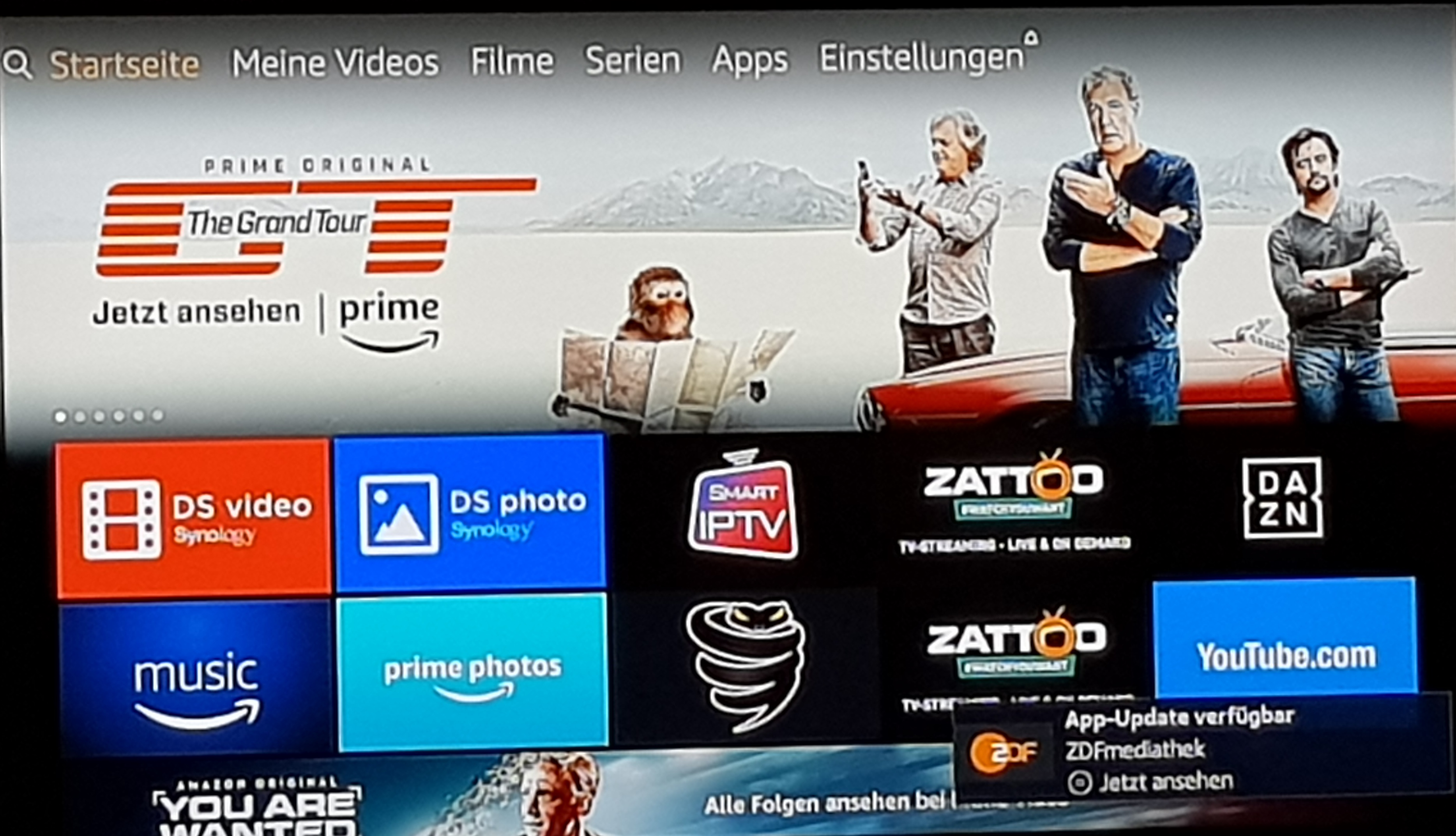 DS Video und DS Photo auf dem Fire TV