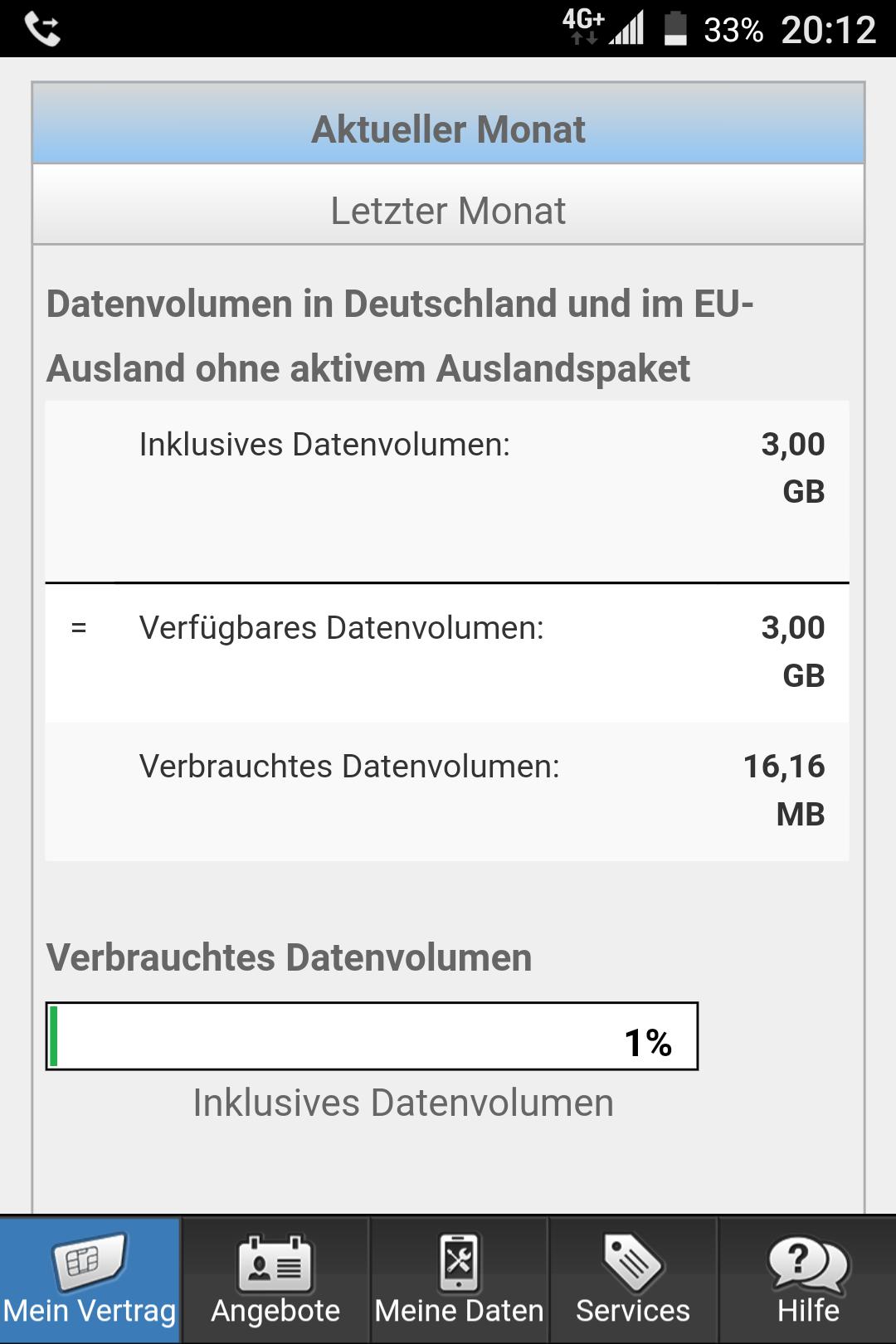 Keine Datenautomatik bei simplytel