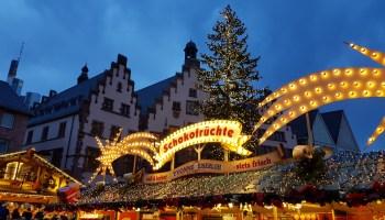 Weihnachtsmarkt Frankfurt Am Main.Wie Immer Kurz Vor Dem Fest Besuch Auf Dem Frankfurter