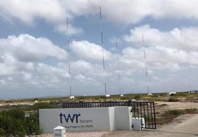 Der Mittelwellensender von TWR Bonaire