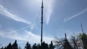 Sendemast des Hessischen Rundfunks auf dem Großen Feldberg