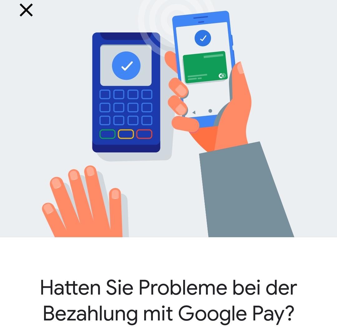 Google-Pay-Probleme bei Globus