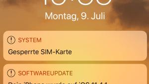 iOS 11.4.1 installiert (Foto: SmartPhoneFan.de)