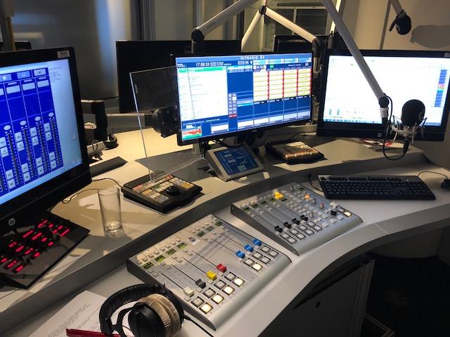 Das dritte Sendestudio kann auch abgebaut und mobil genutzt werden (Foto: SmartPhoneFan.de)