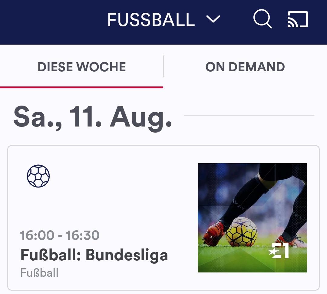 Eurosport Player auf dem Huawei P20 Pro (Foto: SmartPhoneFan.de)