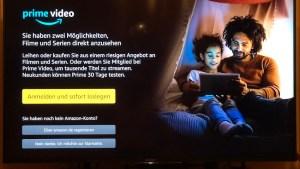 Amazon Prime Video bei EntertainTV (Foto: SmartPhoneFan.de)