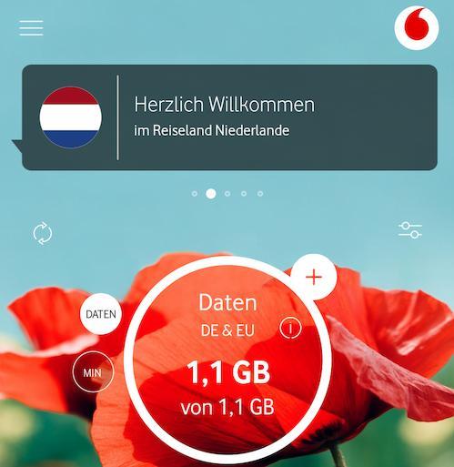 Vodafone-Roaming in den Niederlanden (Foto: SmartPhoneFan.de)