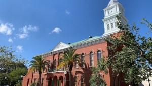 Historisches Gerichtsgebäude in Fernandina Beach (Foto: SmartPhoneFan.de)