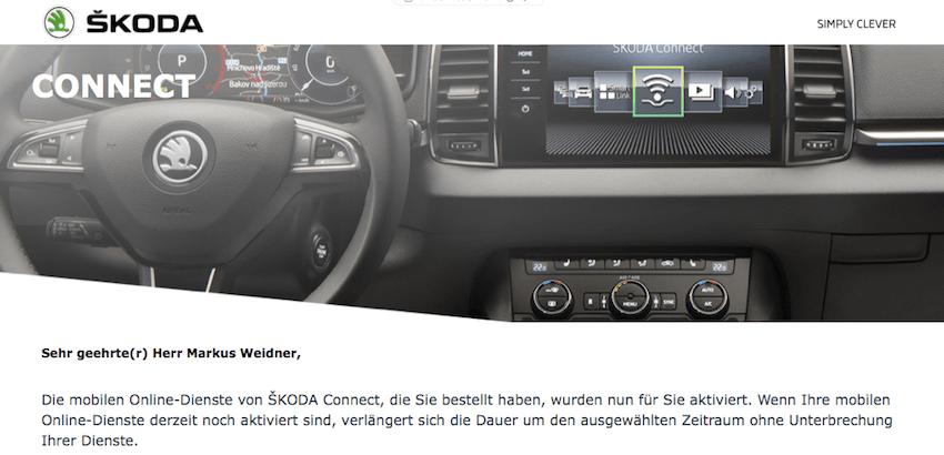 Skoda Connect verlängert (Foto: SmartPhoneFan.de)