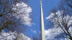 Mobilfunk-Basisstation für den Biebergemünder Obergrund (Foto: SmartPhoneFan.de)