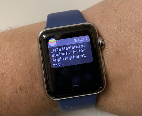 Apple Pay mit N26 (Foto: SmartPhoneFan.de)