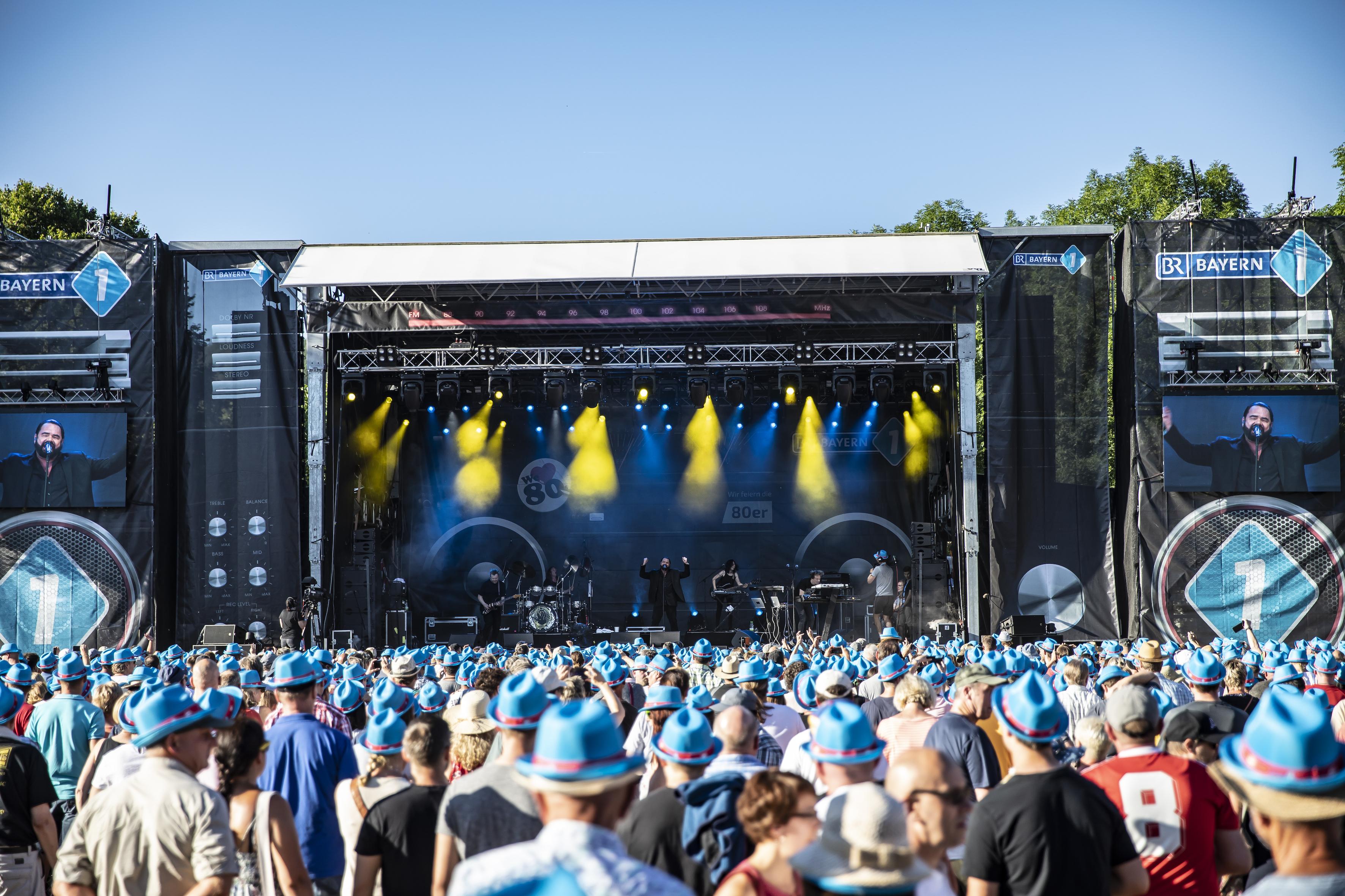 20.000 Besucher beim Bayern 1 Sommerfestival (Foto: Bayerischer Rundfunk)