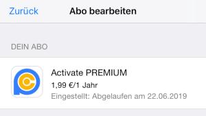 PC-Radio-Abo unter iOS nicht mehr erhältlich (Foto: SmartPhoneFan.de)