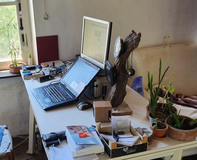 Blick ins Studio von Radio Kreta (Foto: SmartPhoneFan.de)