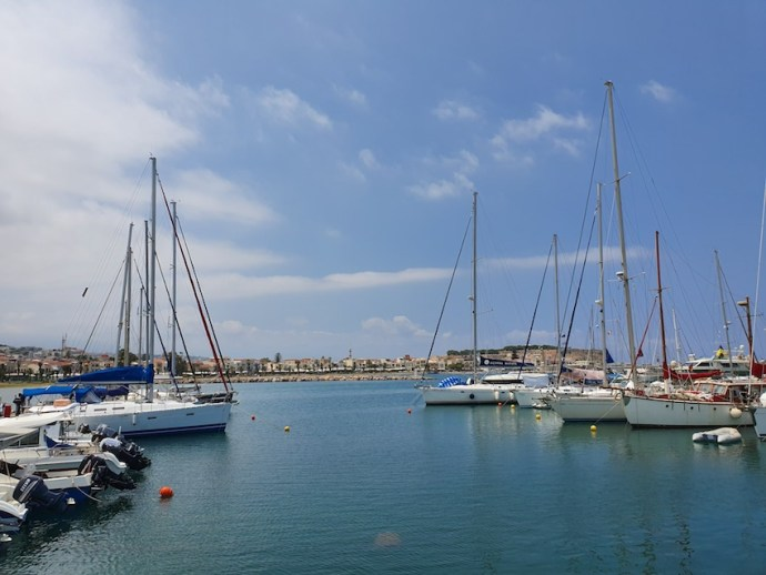 Jachthafen in Rethymno (Foto: SmartPhoneFan.de)