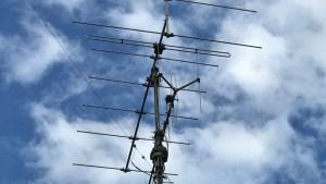 Antennenanlage für DAB+ und UKW (Foto: SmartPhoneFan.de)