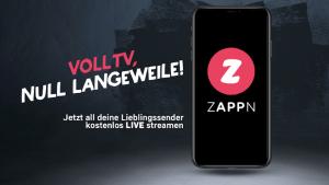 Zappn TV streamt österreichisches Fernsehen (Screenshot: SmartPhoneFan.de, Quelle: Zappn.tv)