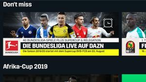 Bundesliga live bei DAZN (Foto: SmartPhoneFan.de)