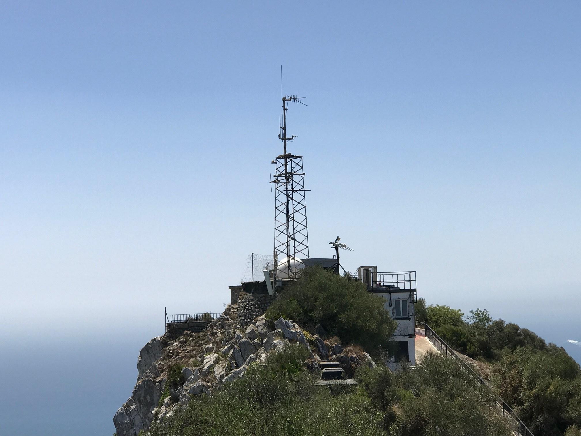 UKW-Sender von Radio Gibraltar (Foto: SmartPhoneFan.de)