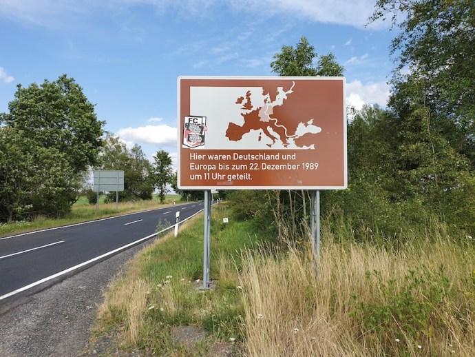 Ehemalige Zonengrenze zwischen Tann-Theobaldshof und Andenhausen (Foto: SmartPhoneFan.de)