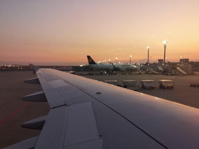 Ankunft am Frankfurter Flughafen (Foto: SmartPhoneFan.de)