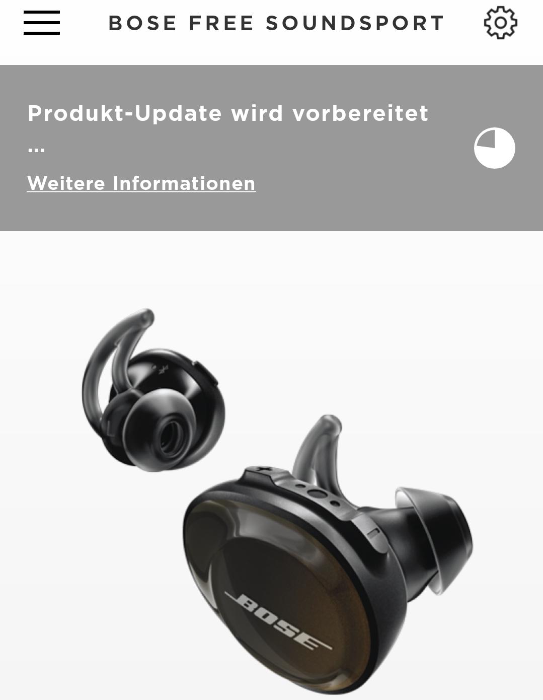 Update für die Bose SoundSport Free (Foto: SmartPhoneFan.de)