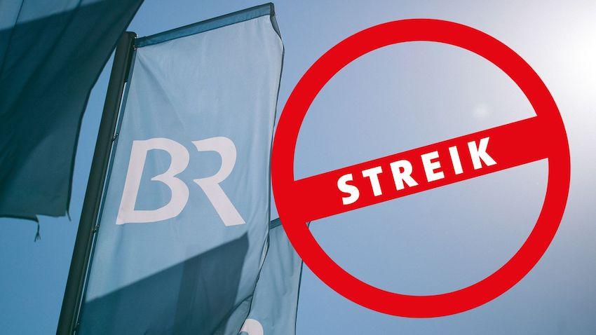 Streik beim BR (Foto: Bayerischer Rundfunk)