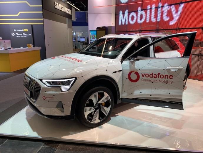 Vodafone zeigt das GigaCar (Foto: SmartPhoneFan.de)