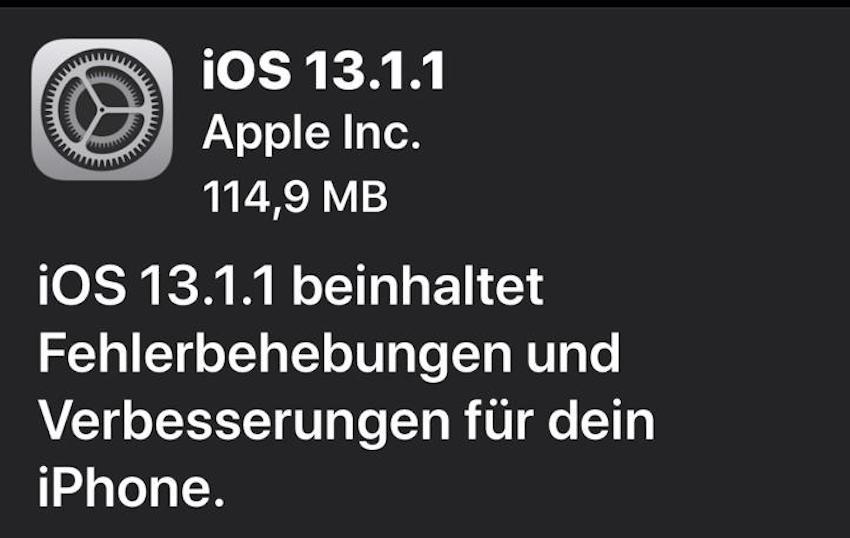 Bugfix-Updates von Apple (Foto: SmartPhoneFan.de)