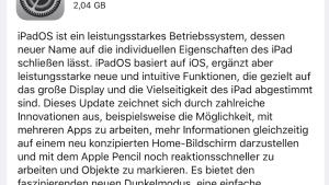 iPadOS ist verfügbar (Foto: SmartPhoneFan.de)