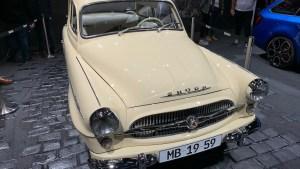 Skoda-Oldtimer auf der IAA (Foto: SmartPhoneFan.de)